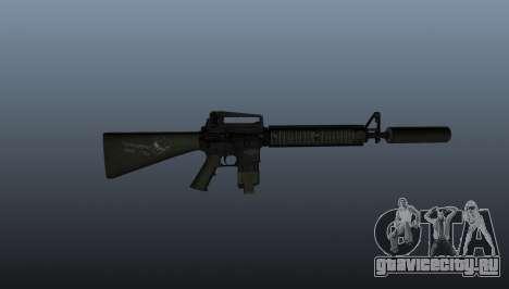 Штурмовая винтовка M16A4 для GTA 4 третий скриншот