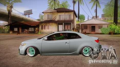 Kia Cerato для GTA San Andreas вид слева
