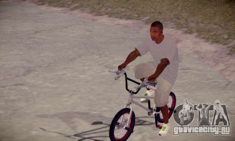 Franklin HD для GTA San Andreas второй скриншот