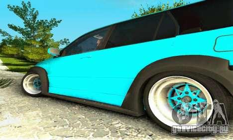 Mitsubishi Evo IX Wagon S-Tuning для GTA San Andreas вид сзади слева