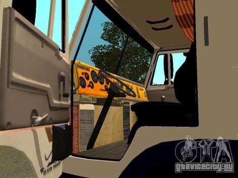 КамАЗ 5410 для GTA San Andreas вид сзади