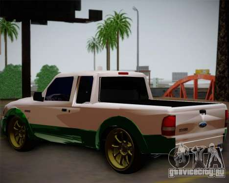 Ford Ranger 2005 для GTA San Andreas вид слева