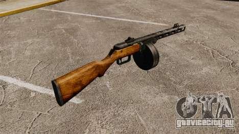 Пистолет-пулемёт Шпагина 1941г для GTA 4 второй скриншот