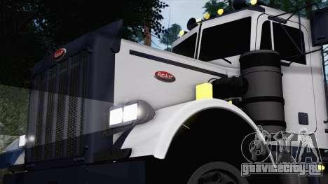 Peterbilt 379 Papa Clyde для GTA San Andreas вид сзади слева