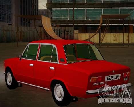 ВАЗ 21011 Export для GTA San Andreas вид сбоку