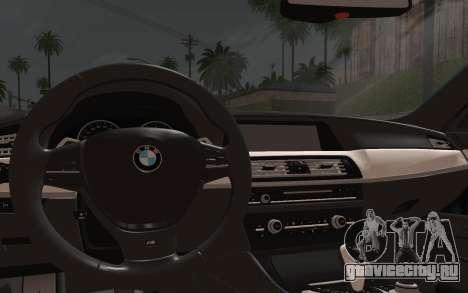 BMW M5 F10 v1 для GTA San Andreas вид справа