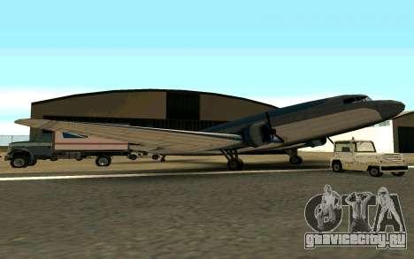 Почтовый самолет США для GTA San Andreas