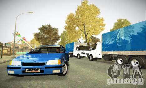 Chevrolet Kadett GS 2.0 для GTA San Andreas вид сзади