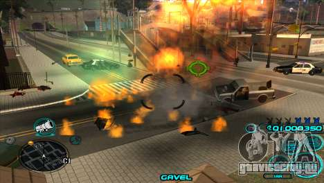 C-HUD Candy Project для GTA San Andreas четвёртый скриншот