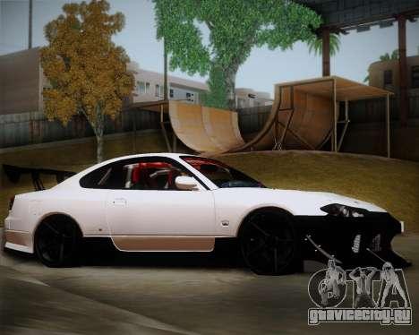 Nissan Silvia S15 JDM для GTA San Andreas вид слева