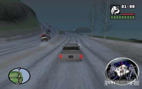 Velocimetro DC Shoes для GTA San Andreas четвёртый скриншот