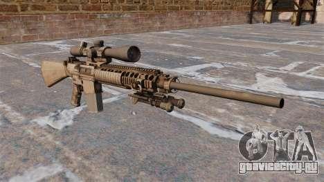 Снайперская винтовка M110 для GTA 4
