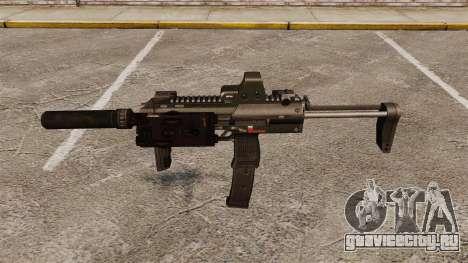 Пистолет-пулемёт HK MP7 Sopmod для GTA 4 третий скриншот