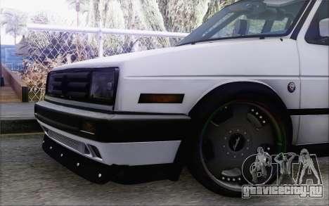 Volkswagen Jetta Mk2 для GTA San Andreas вид справа