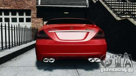 Mercedes-Benz CLS AMG для GTA 4 вид справа