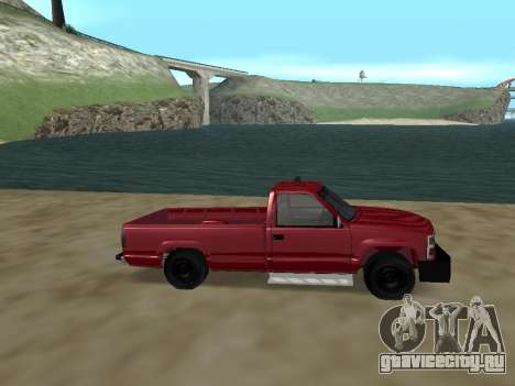Chevrolet Silverado ATTF для GTA San Andreas вид слева