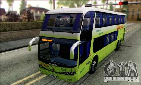 Marcopolo Paradiso G6 Tur-Bus для GTA San Andreas