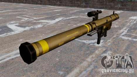 Ручной гранатомет SMAW Mk153 Mod 0 для GTA 4 второй скриншот