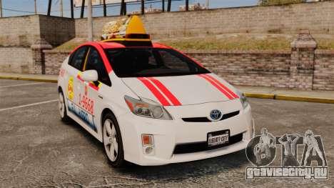 Toyota Prius 2011 Warsaw Taxi v4 для GTA 4