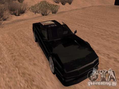Сheetah Restyle для GTA San Andreas вид сзади слева