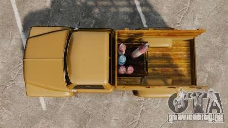 Hot Rod Truck Gas Monkey для GTA 4 вид справа