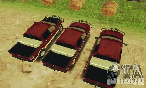 Ford F-150 KING RANCH Edition 2010 для GTA San Andreas вид изнутри