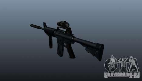 Автоматический карабин M4A1 Grip для GTA 4 второй скриншот