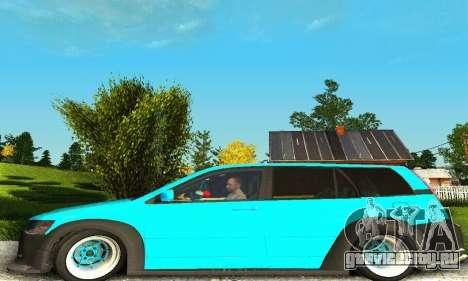 Mitsubishi Evo IX Wagon S-Tuning для GTA San Andreas вид справа