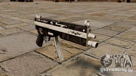 Пистолет-пулемёт MP5 Head Crusher для GTA 4