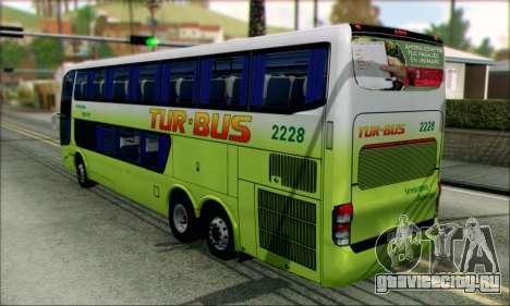 Marcopolo Paradiso G6 Tur-Bus для GTA San Andreas вид слева