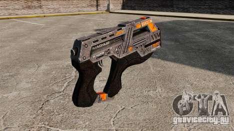 Пистолет Mass Effect v2 для GTA 4 второй скриншот