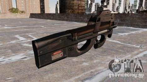 Пистолет-пулемёт P90 для GTA 4 второй скриншот