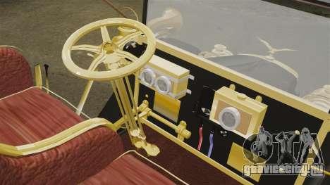 Раритетный автомобиль 1910г для GTA 4 вид изнутри