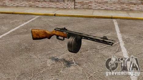Пистолет-пулемёт Шпагина 1941г для GTA 4