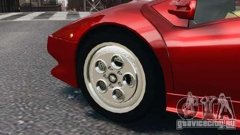 Lamborghini Diablo VT 1994 для GTA 4 вид слева
