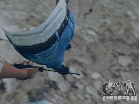Battlefield 2142 Knife для GTA San Andreas второй скриншот