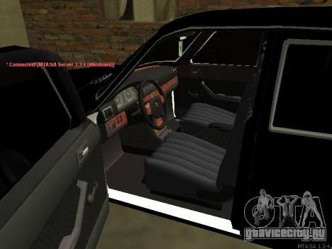 ГАЗ 3102 для GTA San Andreas вид сзади слева