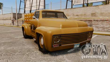 Hot Rod Truck Gas Monkey для GTA 4