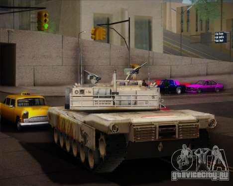 Abrams Tank Indonesia Edition для GTA San Andreas вид справа