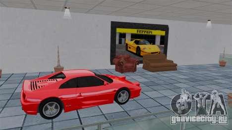 Автосалон Ferrari для GTA 4 шестой скриншот