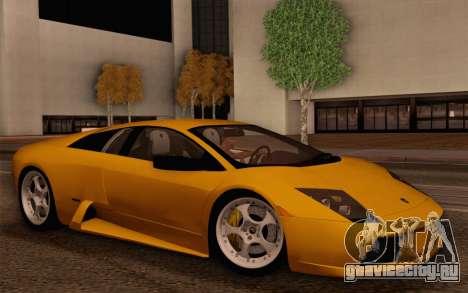 Lamborghini Murciélago 2005 для GTA San Andreas салон