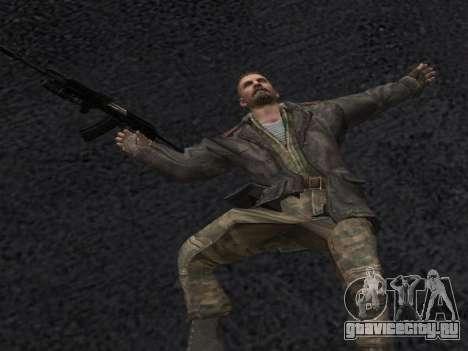 Виктор Резнов для GTA San Andreas шестой скриншот