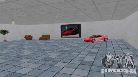 Автосалон Ferrari для GTA 4 четвёртый скриншот