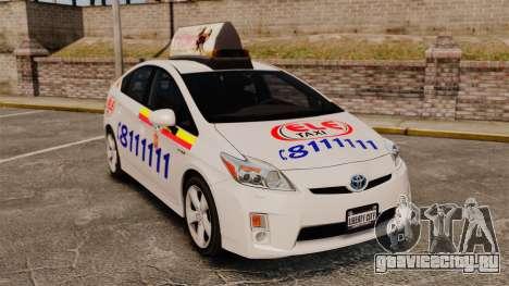 Toyota Prius 2011 Warsaw Taxi v3 для GTA 4