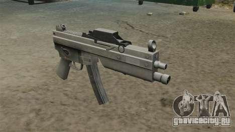 Пистолет-пулемёт MP5 обновлённый для GTA 4