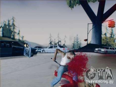Battlefield 2142 Knife для GTA San Andreas шестой скриншот