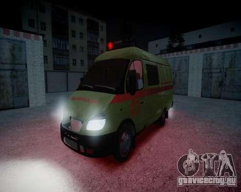 ГАЗель 2705 Реанимация v1.0 для GTA 4 вид изнутри