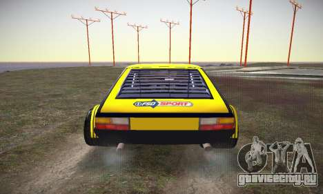 FSO Polonez 2500 Racing 1978 для GTA San Andreas вид сбоку