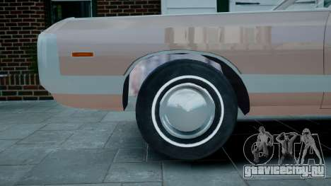 Chrysler New Yorker 1971 для GTA 4 вид сзади