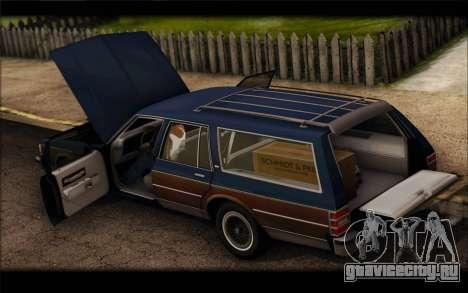 Chevrolet Caprice 1989 Station Wagon для GTA San Andreas вид справа